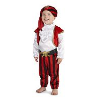 Baby Pirate Commander Costume