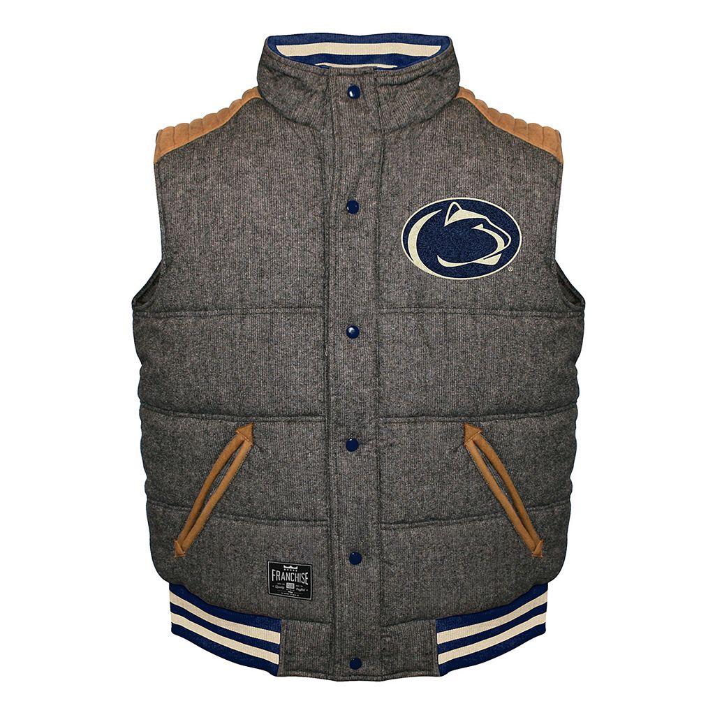 Men's Franchise Club Penn State Nittany Lions Legacy Reversible Vest