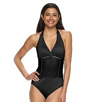 Women's Apt. 9® Braided Mesh One-Piece Swimsuit