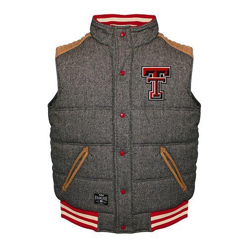 Men's Franchise Club Texas Tech Red Raiders Legacy Reversible Vest