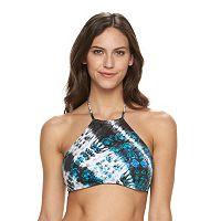 Women's Apt. 9® Tie-Dyed Halter Bikini Top