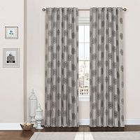 eclipse Percy Flock Thermaweave Blackout Window Curtain