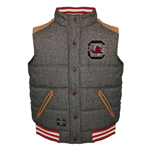 Men's Franchise Club South Carolina Gamecocks Legacy Reversible Vest