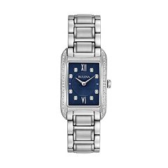 Bulova Women's Diamond Stainless Steel Watch - 96R211
