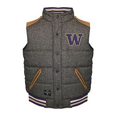 Men's Franchise Club Washington Huskies Legacy Reversible Vest