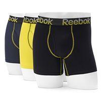 Men's Reebok 3-pack Stretch Boxer Briefs