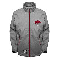 Men's Franchise Club Arkansas Razorbacks Tech Fleece Softshell Jacket