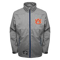 Men's Franchise Club Auburn Tigers Tech Fleece Softshell Jacket