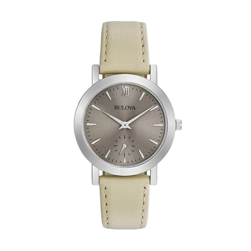 Bulova Women's Classic Leather Watch - 96L233