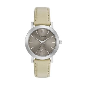 Bulova Women's Classic Leather Watch - 96L233