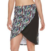 Women's Soybu Printed High-Low Skirt
