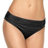 Women's Apt. 9® Solid Strappy Hipster Bikini Bottoms