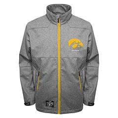 Men's Franchise Club Iowa Hawkeyes Tech Fleece Softshell Jacket