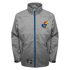 Men's Franchise Club Kansas Jayhawks Tech Fleece Softshell Jacket