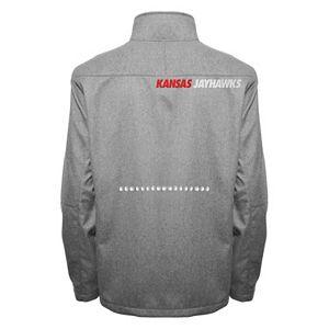 Men's Franchise Club Kansas Jayhawks Tech Fleece Softshell Jacket