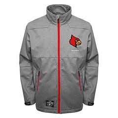 Men's Franchise Club Louisville Cardinals Tech Fleece Softshell Jacket