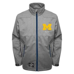 Men's Franchise Club Michigan Wolverines Tech Fleece Softshell Jacket
