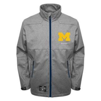 Men's Franchise Club Michigan Wolverines Tech Fleece Softshell Jacket