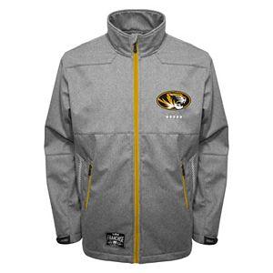 Men's Franchise Club Missouri Tigers Tech Fleece Softshell Jacket