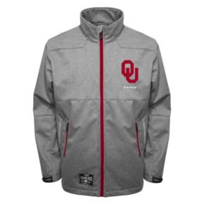 Men's Franchise Club Oklahoma Sooners Tech Fleece Softshell Jacket