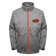 Men's Franchise Club Oklahoma State Cowboys Tech Fleece Softshell Jacket