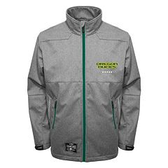 Men's Franchise Club Oregon Ducks Tech Fleece Softshell Jacket
