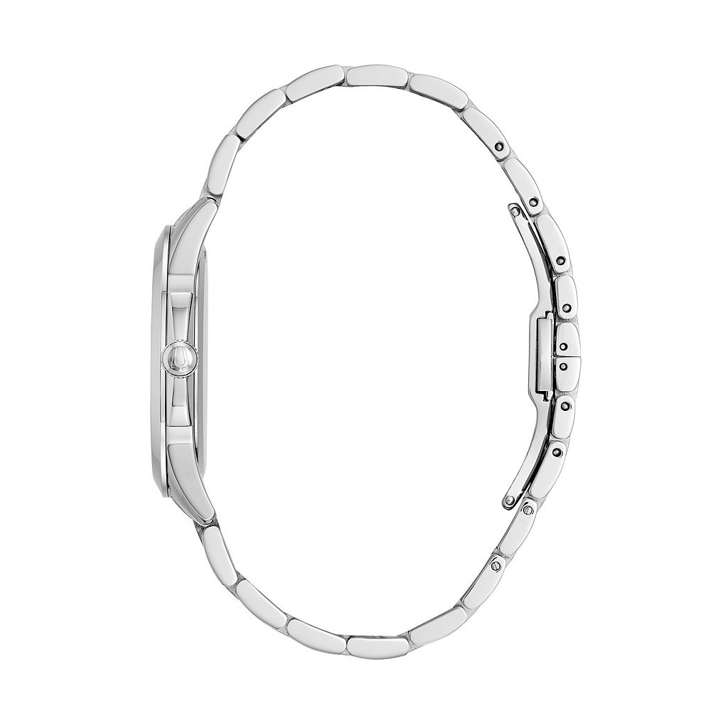 Bulova Women's Diamond Stainless Steel Watch - 96P174