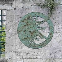 Sunjoy Verdigris Sun Indoor / Outdoor Wall Decor