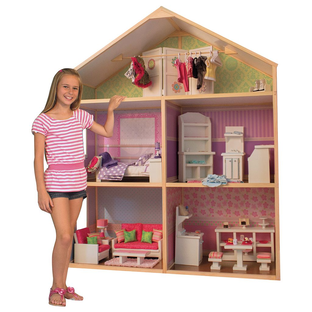 My Girl Dollie & Me Style Dollhouse for 18-in. Dolls