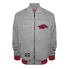 Men's Franchise Club Arkansas Razorbacks Edge Fleece Jacket