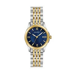 Bulova Women's Classic Two Tone Stainless Steel Watch
