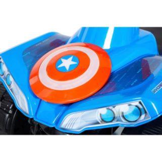 Marvel Avengers 6V Light-up Little Quad Ride-On
