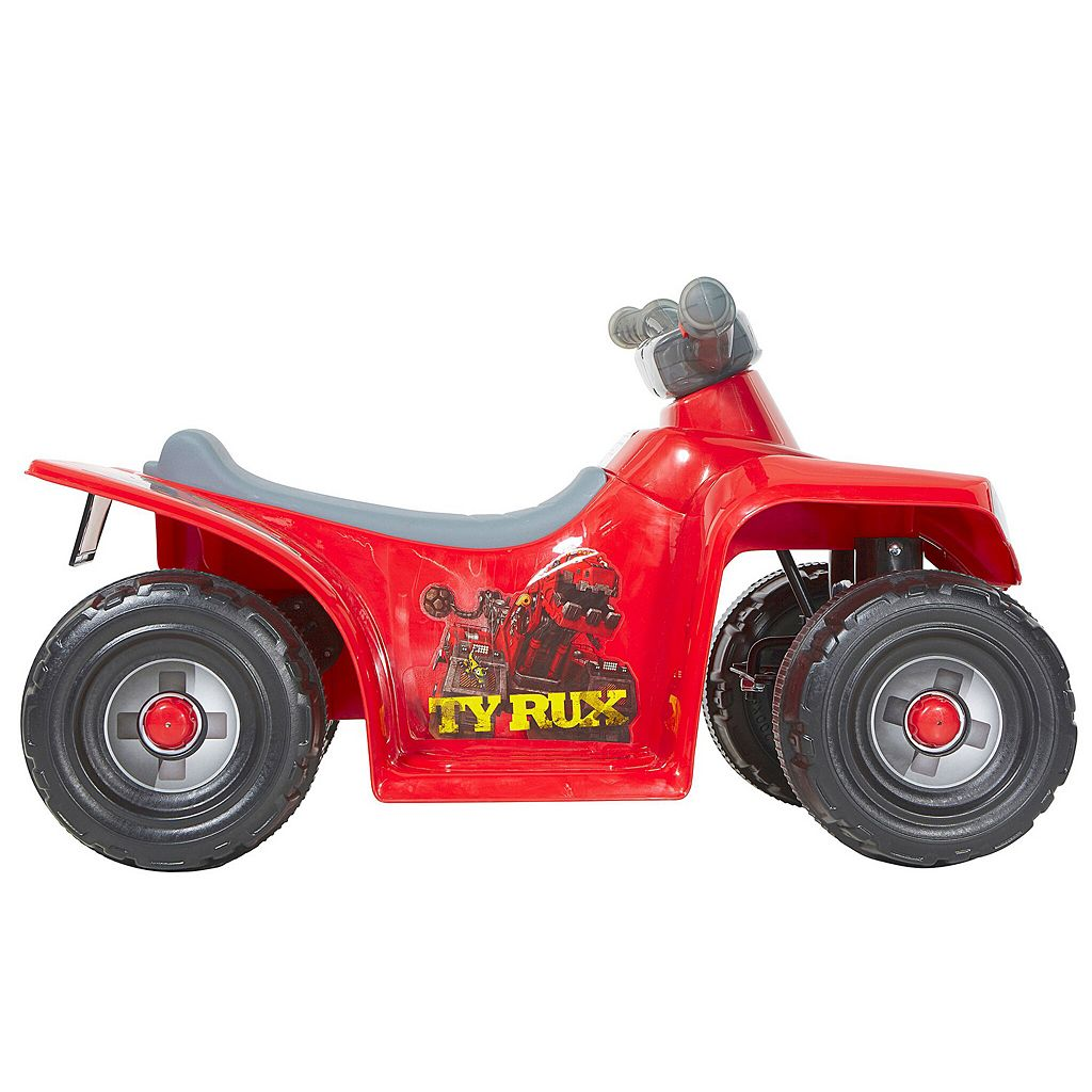DreamWorks Dinotrux 6V Dino Trux Light-up Little Quad Ride-On