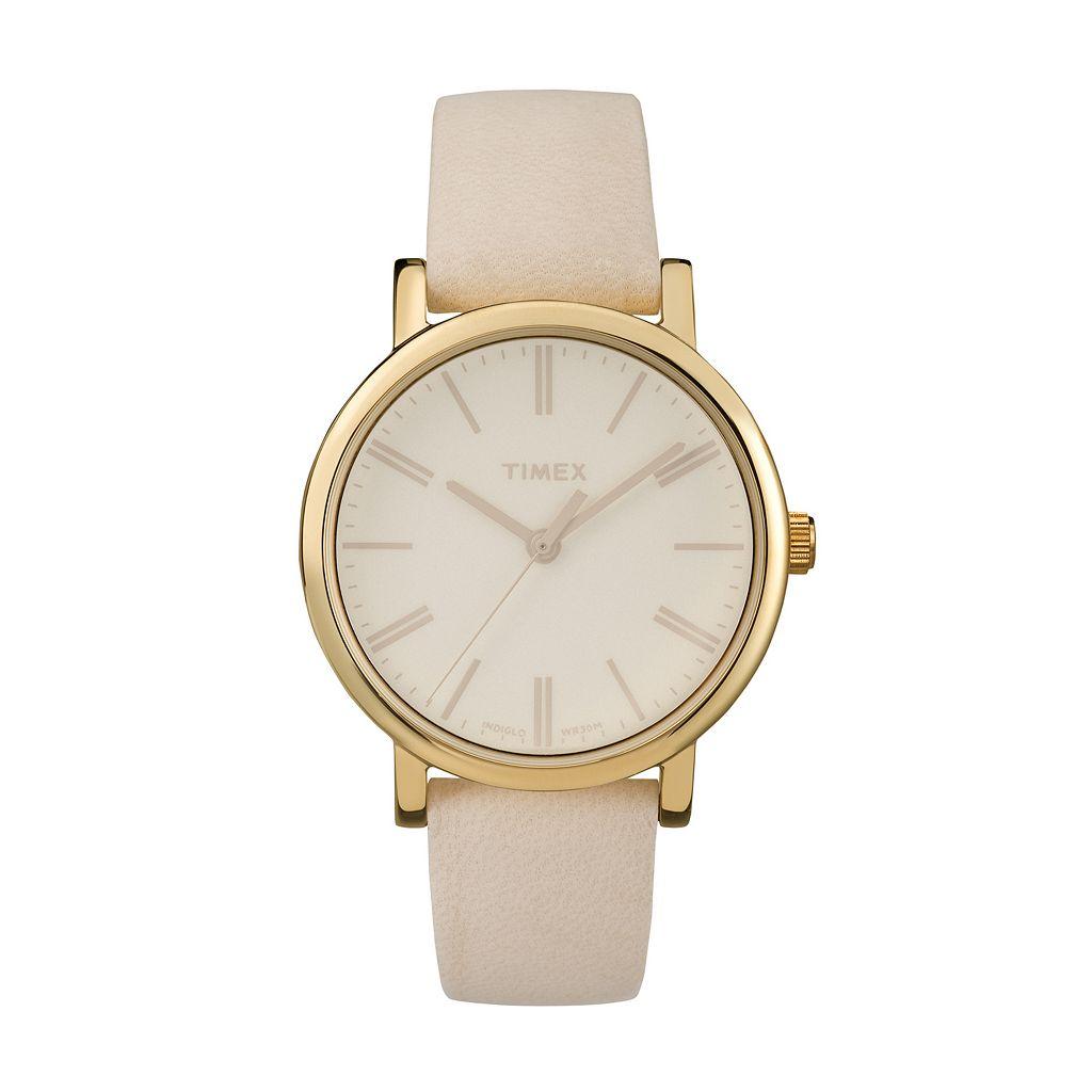 Timex Women's Originals Tonal Leather Watch - TW2P96200JT