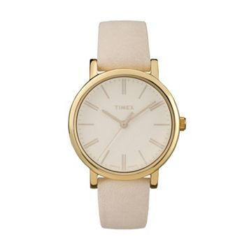 Timex Women's Originals Tonal Leather Watch - TW2P96200JT