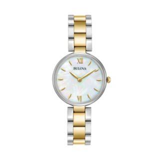 Bulova Women's Classic Two Tone Stainless Steel Watch - 98L226