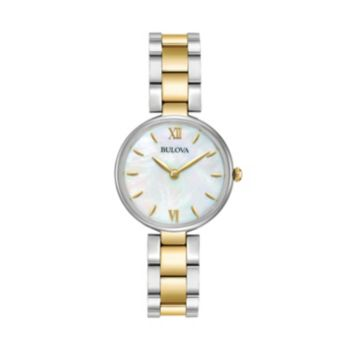 Bulova Women's Classic Two Tone Stainless Steel Watch - 98L226