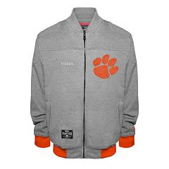 Men's Franchise Club Clemson Tigers Edge Fleece Jacket