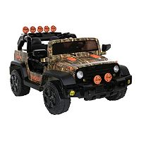 Surge 12V Camouflage 4x4 Ride-On Jeep