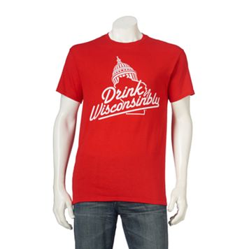 Men's Capitol Drink Wisconsinbly Tee