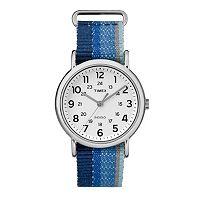 Timex Women's Weekender Denim Striped Watch - TW2R10200JT