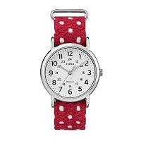 Timex Women's Weekender Polka Dot Watch - TW2R10400JT