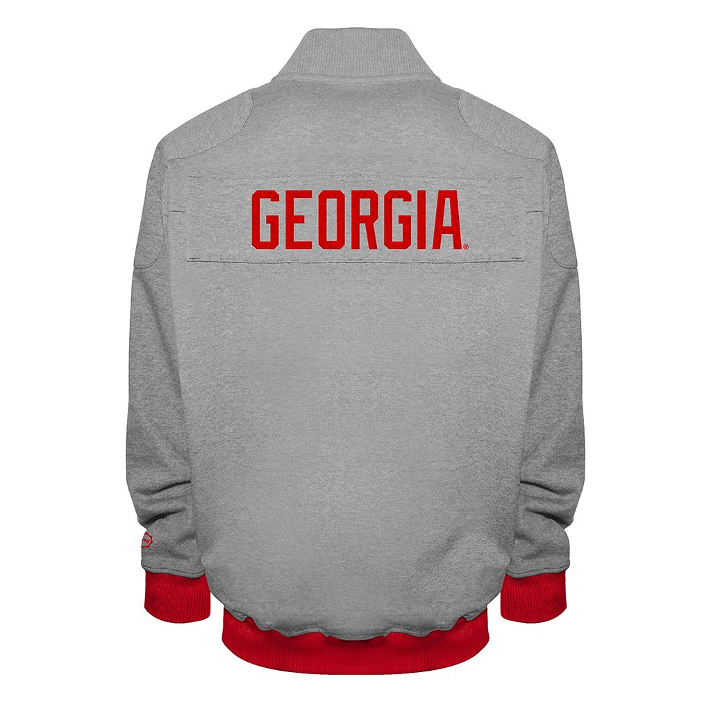 Men's Franchise Club Georgia Bulldogs Edge Fleece Jacket