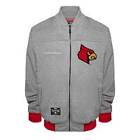Men's Franchise Club Louisville Cardinals Edge Fleece Jacket