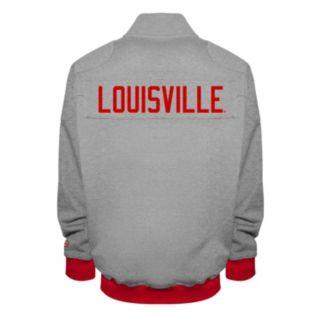 Men's Franchise Club Louisville Cardinals Edge Fleece Jacket