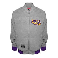 Men's Franchise Club LSU Tigers Edge Fleece Jacket