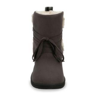 Dearfoams Women's Memory Foam Boot Slippers