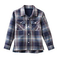 Boys 4-7 No Retreat Plaid Shirt