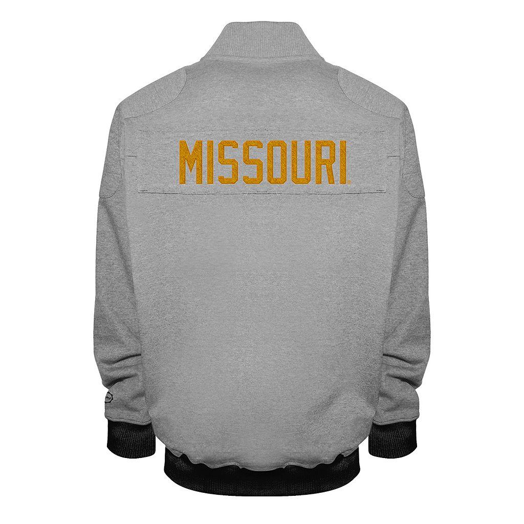 Men's Franchise Club Missouri Tigers Edge Fleece Jacket