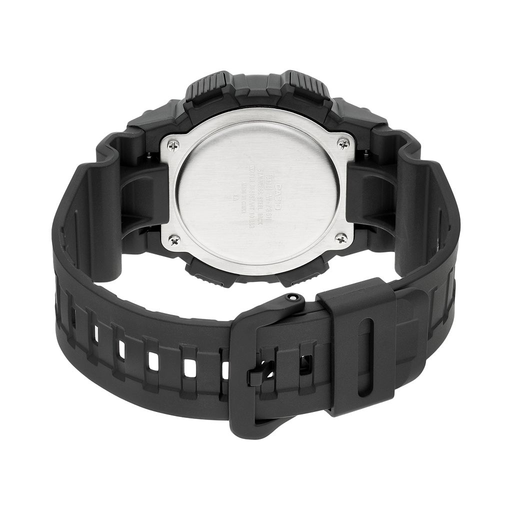Casio Men's Vibration Alarm Digital Chronograph Watch - W735H-1A2V